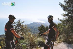 percorso MTB tra mare e collina - conero by bike
